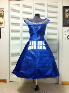 Tardis Dress 2011